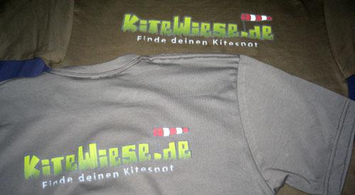 Kitewiese.de-Shirt